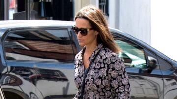 PHOTOS – Pippa Middleton, enceinte: sortie en petite robe estivale signée Séraphine à 51€
