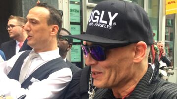 Excédé, Johnny Depp met fin à sa promotion, l'attitude du comédien pose question