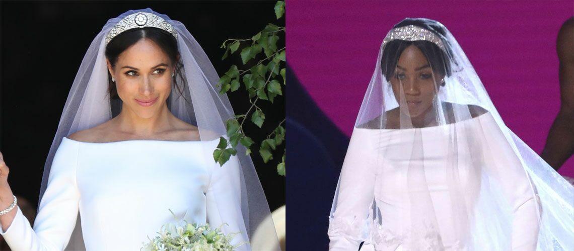 Quand la robe de mariée de Meghan Markle fait le buzz aux MTV Awards