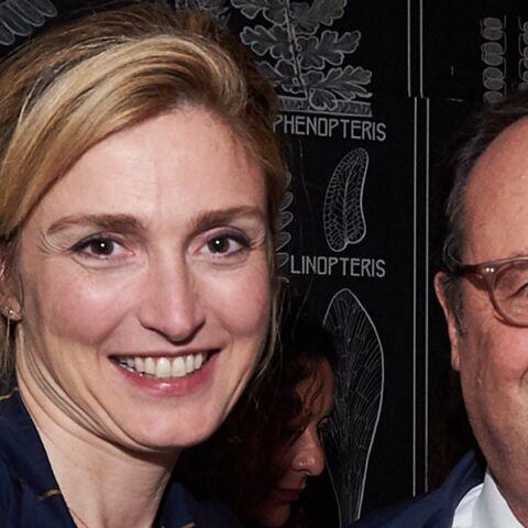 Quand Julie Gayet joue les attachées de presse pour François Hollande: le petit cadeau qui a dû faire plaisir au maire de Marseille