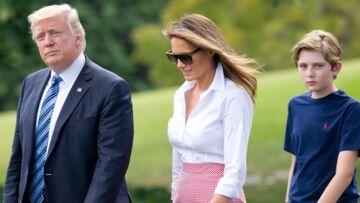 Barron, le fils de Donald et Melania Trump insulté par une star américaine, le tweet qui ne passe pas