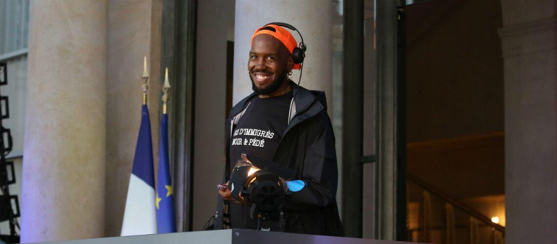 Fête de la musique à l'Elysée, un t-shirt fait jaser et ce n'est pas celui de Brigitte Macron