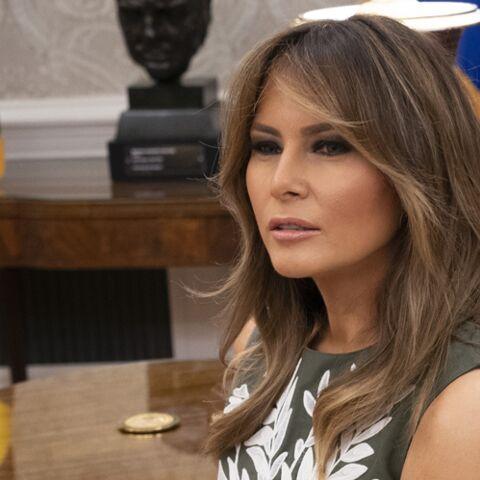 PHOTOS – La veste de Melania Trump qui veut dire beaucoup