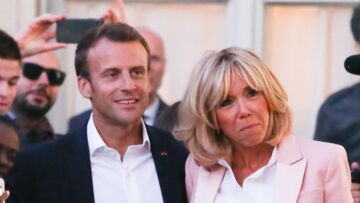 Emmanuel Macron, son tendre bisou à Brigitte, une Première dame comblée d'amour