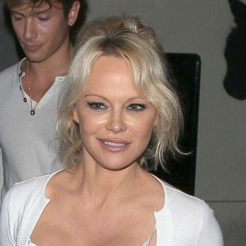 Pamela Anderson grande absente du Mondial… Elle n'a pas suivi Adil Rami