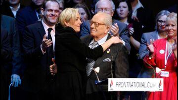 """Jean-Marie Le Pen flatteur pour Marine sa fille """"Je l'ai trouvée en beauté"""""""
