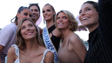 VIDÉO – Miss France 2018 fête son anniversaire en délicieuse compagnie…
