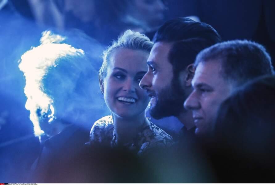 Johnny, Laeticia et Maxim Nucci unis aux Victoires en 2016