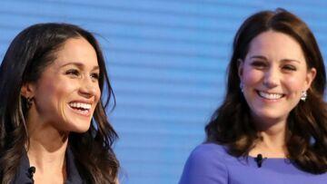 Le détail vestimentaire que la reine interdit à Meghan Markle et Kate Middleton