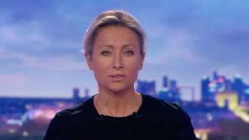 VIDÉO – Anne-Sophie Lapix dans le noir, panique en régie
