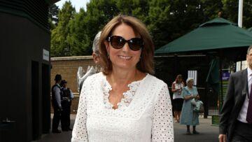 PHOTOS – Ouf, Carole Middleton, la maman de Kate, a retrouvé sa place dans la box royale à Wimbledon