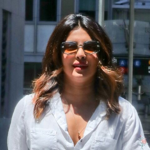 PHOTOS – Priyanka Chopra: la meilleure amie de Meghan Markle, canon à New York en total look blanc