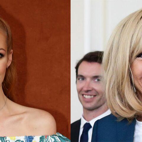 Brigitte Macron rayonnante avec Maëva Coucke, Miss France 2018: la photo qui étonne