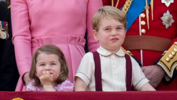 PHOTOS – Charlotte et George de Cambridge : retour sur les plus beaux looks des enfants de Kate Middleton