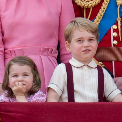PHOTOS – Charlotte et George de Cambridge: retour sur les plus beaux looks des enfants de Kate Middleton