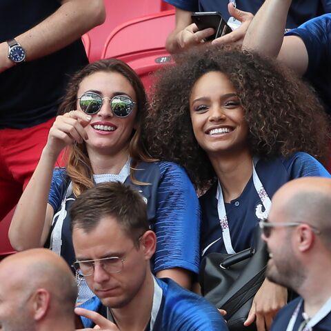 PHOTOS – Rachel Legrain-Trapani et Alicia Aylies, deux Miss à fond pour les bleus