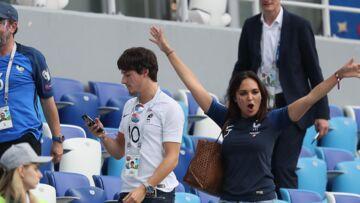 PHOTO – Valérie Bègue et Bruno Solo: une belle amitié dans les gradins pour applaudir les Bleus