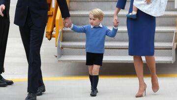 PHOTOS – Baptême du prince Louis: pourquoi George est (encore) en short