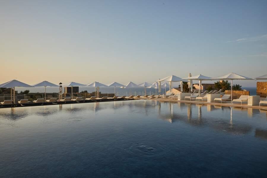 Cefalu, zoom sur la piscine, sublime