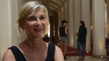 VIDEO – L'interview express de Michèle Laroque au Marrakech du Rire 2018