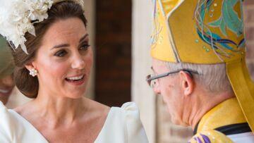 La petite blague de Kate Middleton à l'archevêque de Canterbury sur son fils Louis