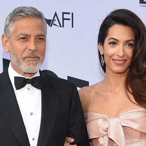 George et Amal Clooney: leurs vacances en Sardaigne gâchées par un accident