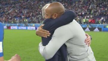 Coupe du monde 2018: les jolies retrouvailles entre Didier Deschamps et Thierry Henry