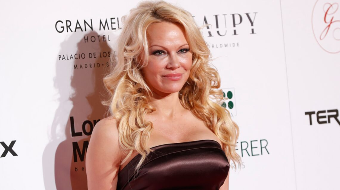 PHOTO – Pamela Anderson ultra sexy pour féliciter son chéri Adil Rami après la victoire des Bleus