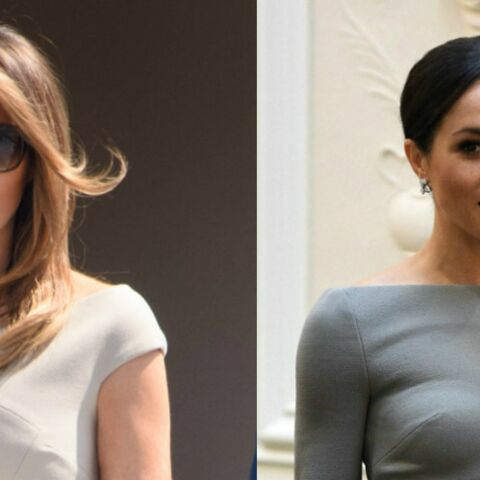 PHOTOS – Melania Trump copie Meghan Markle : la first lady tenterait-elle de séduire les Anglais ?
