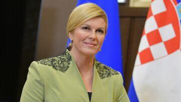 Pourquoi la présidente croate Kolinda Grabar Kitarovic a transgressé le protocole dans les tribunes?