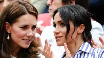 PHOTOS: Kate Middleton et Meghan Markle: sortie entre copines à Wimbledon, leur complicité est évidente