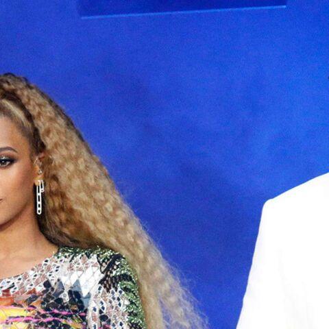 PHOTOS – Beyoncé et Jay-Z: découvrez comment ils ont félicité les Bleus sur scène au Stade de France