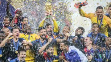 PHOTOS – Griezmann, Giroud, Lloris: les pères de famille partagent leur belle victoire avec leurs enfants