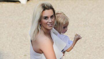 PHOTOS – La femme d'Antoine Griezmann et leur fille Mia, très élégantes pour leur visite à l'Elysée