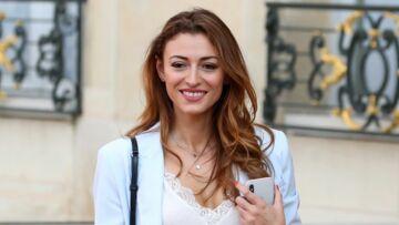 Rachel Legrain-Trapani toute en beauté et inséparable de son compagnon Benjamin Pavard