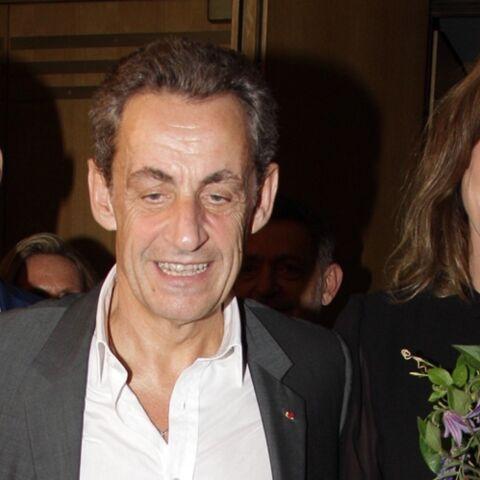 """Nicolas Sarkozy aux premières loges pour soutenir sa femme Carla Bruni """"Je la suis sur presque toute sa tournée"""""""