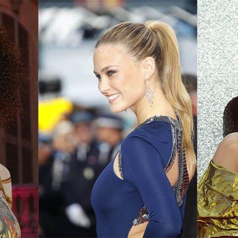 PHOTOS – Rihanna, Tina Kunakey, Bar Rafaeli… les coiffures faciles à faire sans peigne ni brosse