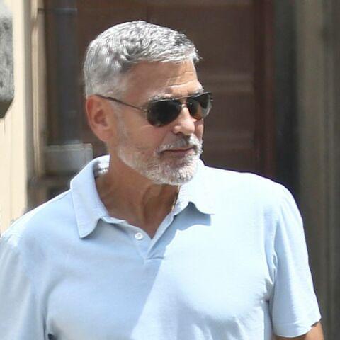 PHOTOS – George Clooney: après son accident, les photos qui rassurent ses fans