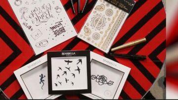 VIDEO – Craquez pour un tatouage éphémère, le tattoo tendance de l'été
