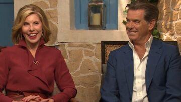 VIDEO – «Mamma Mia! Here we go again»: Pierce Brosnan, Christine Baranski, les héros du film en mode groupie