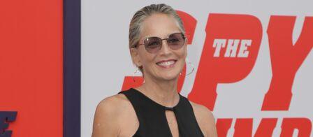 Photos Sharon Stone A 60 Ans Elle Opte Pour Le Wet Hair La