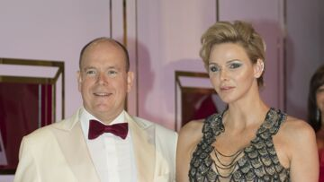PHOTOS – Charlène de Monaco sublime en robe sirène