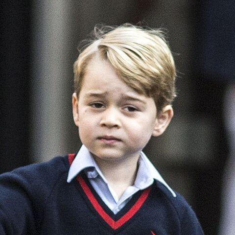 Le prince George n'échappe pas aux paparazzi: une vidéo montre des images de sa salle de classe