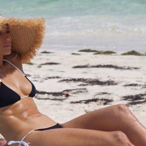PHOTOS – Jennifer Lopez, Bella Hadid, Emily Ratajkowski… La tendance du chapeau de paille XXL