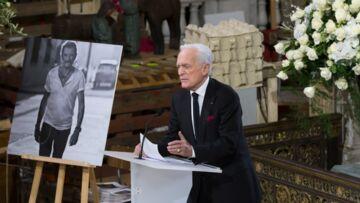 Obsèques de Johnny Hallyday, Philippe Labro refuse de dire qu'il a fait une «boulette» à propos de Jade et Joy