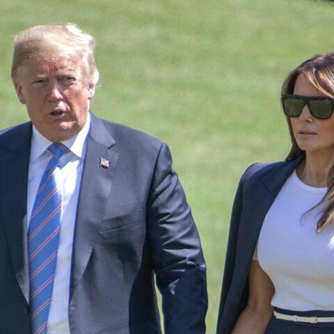 Melania Trump chouchoutée par Donald Trump, le président américain a-t-il tiré les leçons de ses humiliations?