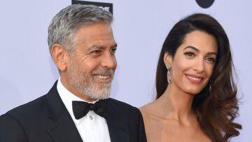 PHOTOS – George Clooney, très en forme après son accident pour une sortie en amoureux avec Amal