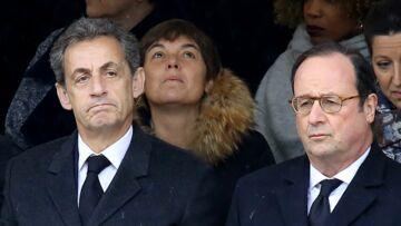 La remarque cinglante de Nicolas Sarkozy à François Hollande lors de l'hommage à Johnny Hallyday