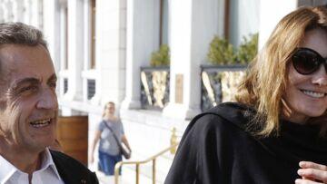 "PHOTO – Giulia Sarkozy, une ""fille à papa"": la fille de Carla Bruni ne lâche pas la main de Nicolas Sarkozy"