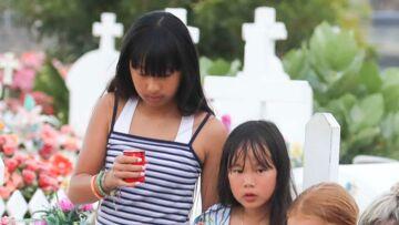 Jade et Joy Hallyday, les filles de Laeticia et Johnny, s'éclatent avec leurs copines